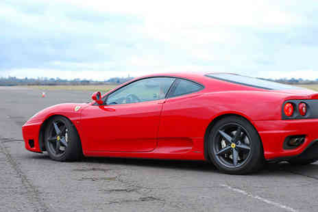 Driving Gift - Oner hour Ferrari 360 thrill driving experience   - Save 61%