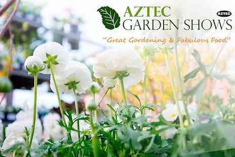 Aztec Events - Entry to Norfolk Garden Show  For Two - Save 54%