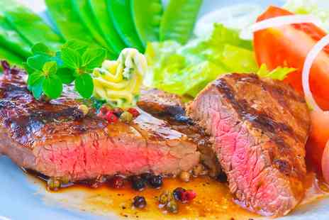 Oscars Restaurant - Two Course Rump Steak Meal For Two - Save 61%