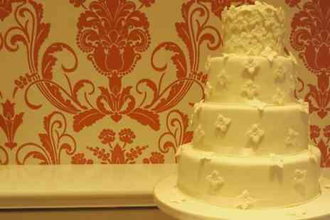 Classic Touch Cakes - Four Tier Decorated Wedding Cake  - Save 57%