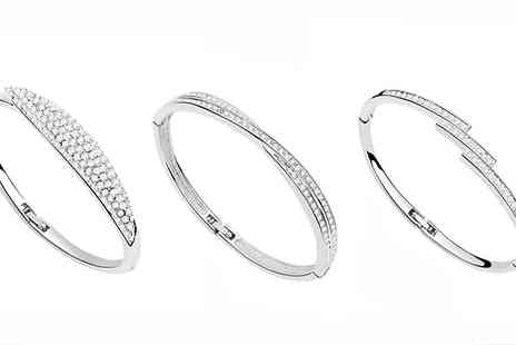 Van Amstel diamond - Swarovski Elements Crystal Bracelet - Save 85%