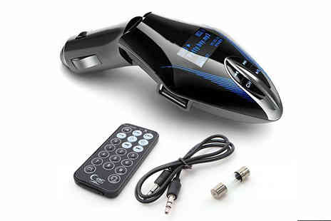 British goody - 2 in 1 Wireless Car Player with Remote Control - Save 69%