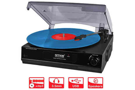 Costmad - Amos USB Turntable - Save 73%