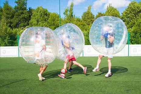 Zorbmo - Bubble football game for up to ten  - Save 0%
