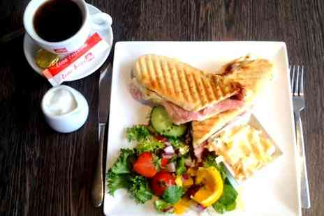 Departure Lounge - Sandwich and Coffee For Two - Save 21%