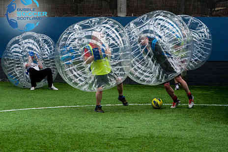 Bubble Soccer  - 60 Minute Bubble Football Experience for up To 16 - Save 38%