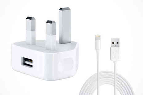 lloyds gadgets - Official Apple Lightning Cable and 5W Power Adapter - Save 43%