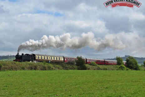 Avon Valley Railway - Steam Train Journey for Two Adults or a Family of Four  - Save 53%