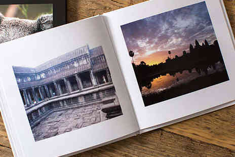 Huggler  - Hardcover Photo Book with Facebook or Instagram Images - Save 67%