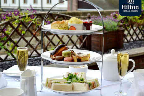 The Hilton Sheffield - Afternoon Tea for Two with Glass of Prosecco Each for Two  - Save 0%