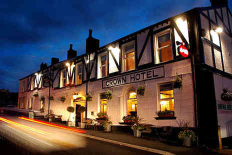 The Crown - One or Two Night Stay for Two in Standard Double Room with Breakfast Daily - Save 0%