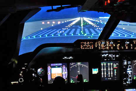 Flight Simulators Midlands - One Hour Boeing 747 Flight Experience - Save 53%