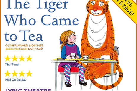 Ingresso - Tickets to The Tiger Who Came to Tea - Save 0%