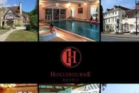 Hollybourne Hotels - One Night Stay For Two With Evening Meal and Breakfast - Save 50%