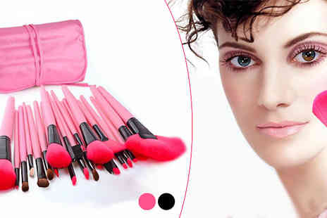 Widgetlove - 24 Piece Makeup Brush Set - Save 84%