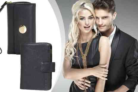 gu digital - Knomo Leather Wallet Case for iPhone 4 - Save 75%