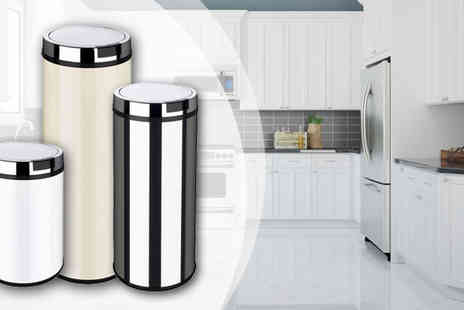To Your Home - A Choice of No Touch Sensor Bins - Save 70%
