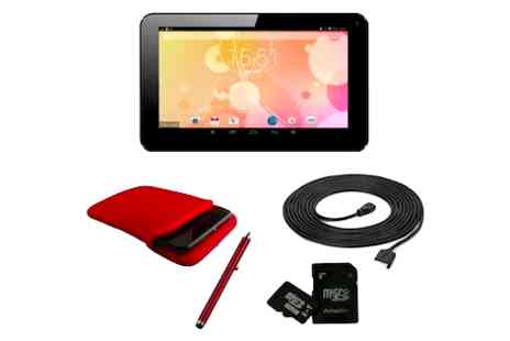 Hedoo -  7 inch Android KitKat tablet & accessories bundle - Save 77%