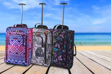 Luggage Travel Bags - Lightweight cabin sized trolley bag  - Save 52%