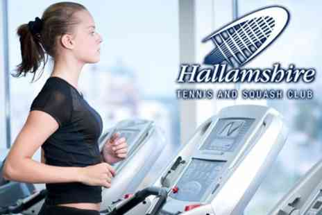 Hallamshire Tennis and Squash Club - Three Month Gym Membership for £30  - Save 60%