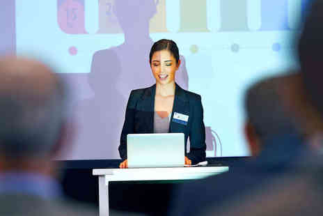 Coursevine - Choice of Course Learn Effective Presentation Skills or Learn Numeracy for Business  - Save 65%