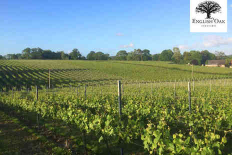 English Oak Vineyard - Vineyard Tour with Tasting for One  - Save 50%