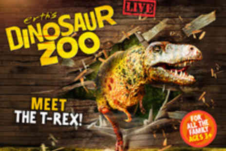 Ingresso - Tickets to Dinosaur Zoo - Save 39%
