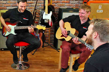 Your Guitar Academy - Two 60 Minute Guitar Lessons in a Choice of Locations - Save 70%