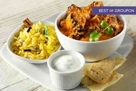 asiana fine indian dining - Two Course Indian Meal For Two  - Save 0%