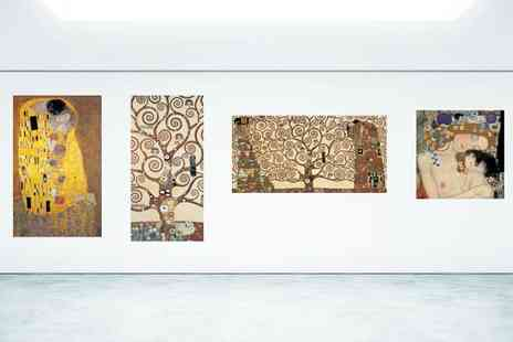 BuyBay BV - A Choice of Gustav Klimt Gallery Wrapped Canvas Prints - Save 49%