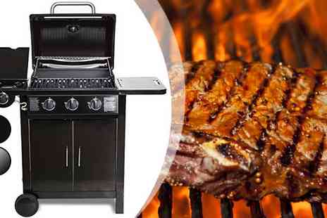 EVRE - Three plus One Gas Barbecue - Save 65%