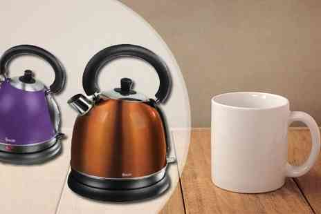 Giddy Aunt - Swan 1.7 Litre Traditional Kettle - Save 60%