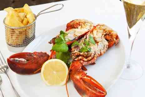 Kettners Restaurant - Soho Champagne Lobster Dinner for two - Save 53%