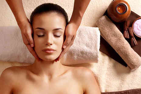 Neda Spa Hair & Beauty - Luxury pamper package for one including facial, manicure and back scrub - Save 79%