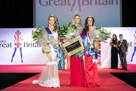 Miss GB North West - Ticket to the official Miss Great Britain North West Pageant with bubbly and a show guide - Save 60%