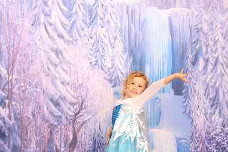 carriage and castle voucher deal - Ice Themed Photshoot and Mounted Print  - Save 85%
