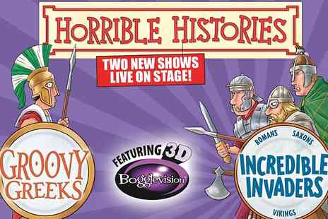 The Orchard Theatre - Ticket to Horrible Histories - Save 33%