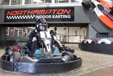 Northampton Indoor Karting - Northampton Indoor Karting: Kids' Half Day Karting Experience With Food and Drink - Save 69%