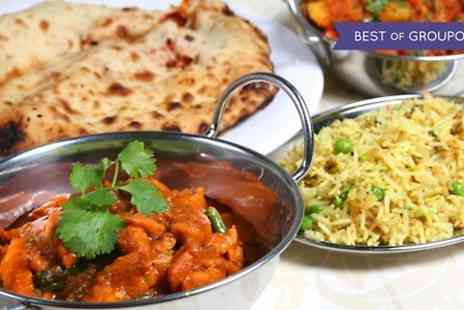 Indigo Bistro - Two Course Indian Meal For Two  - Save 49%