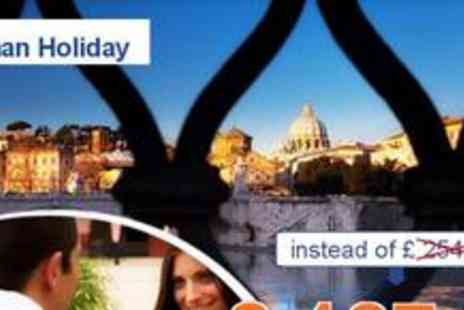 St Peters Rooms Rome - Mini Break in Rome for 2 people - Save 50%