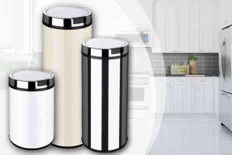 To Your Home   - A Choice of No Touch Sensor Bins - Save 69%