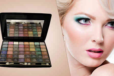 Fashion Sparkles 4 U - Pack of Two 48 Colour Eye Shadow Palettes - Save 69%