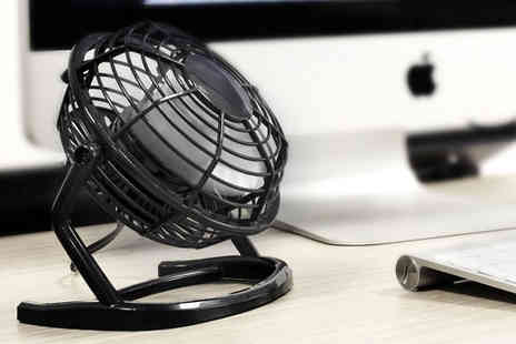Accessory lab - Executive USB Desk Fan - Save 37%