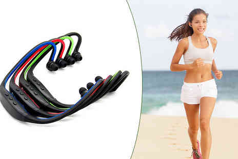 Mobile Heads - Bluetooth Sports Headphones - Save 73%