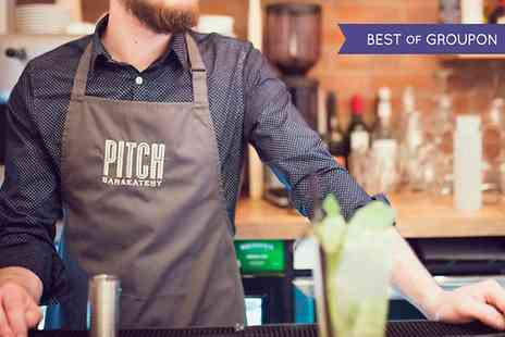 Pitch Cardiff Bar - Cocktail Making Class  - Save 50%