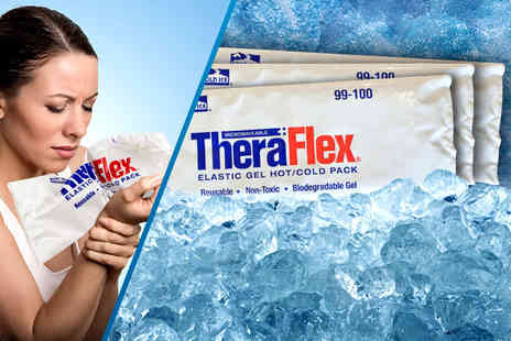 Active Human - Three TheraFlex elastic gel hot/cold packs - Save 66%
