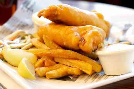 The Architect - Fish and Chips With Beer or Wine For Two - Save 0%