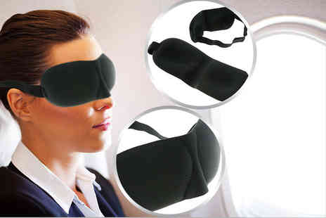 Aven Republic - Two 3D sleep masks - Save 86%