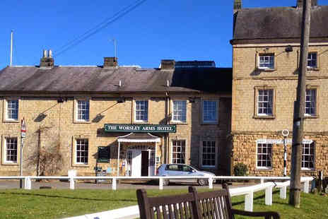 The Worsley Arms Hotel - Two Night Yorkshire Countryside Break for Two - Save 63%