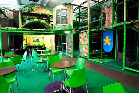 Jungle Jims Playland - Two Hour Session With Picnic Box For One Child  - Save 43%